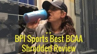 BPI Sports Best BCAA Shredded Review