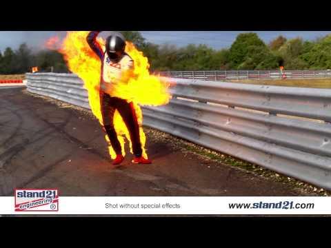 Racewear Fire Simulation
