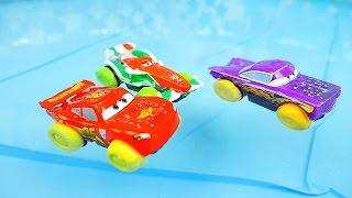 Машинки Тачки и гонки в бассейне с водой - Water Toys Cars