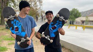 8.6 SCREAMING HAND PRODUCT CHALLENGE | Santa Cruz Skateboards