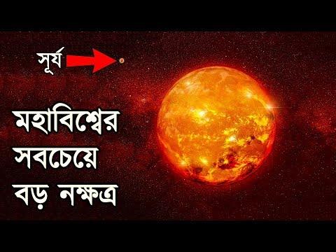 মহাবিশ্বের সবচেয়ে বৃহত্তম নক্ষত্র | The Largest Known Star In The Universe