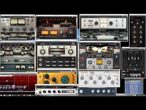 Tape Saturation VST - Slate Digital VTM vs  Waves J37 vs  TB ReelBus