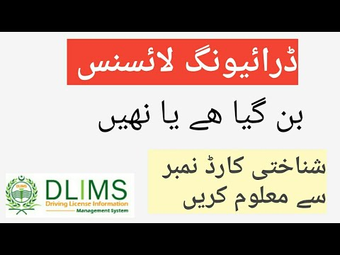 Dlims How To Check Driving Licence Verification Online In