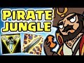 HOW IS THIS ACTUALLY OP GANGPLANK JUNGLE FASTEST TRIFORCE EVER GET MONEY THE GANGPLANK MAIN