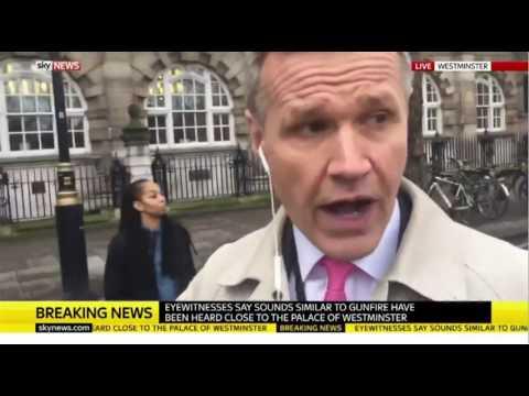 London Terror Attack - How News Broke on Sky News 22/3/17