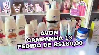 ABERTURA DE CAIXA AVON CAMPANHA 13 | Bárbara Martins