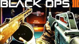 M16 & PPSH in Black Ops 3! (NEW DLC WEAPONS)