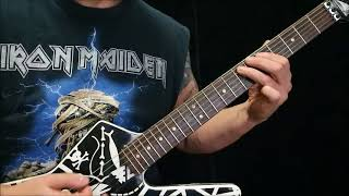 How to play Dio The King of Rock and Roll on guitar