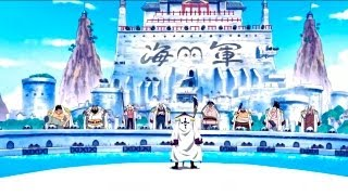 One Piece AMV  Saving A Son  Marineford Part 1/2 HD