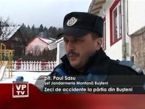 Zeci de accidente la pârtia din Buşteni