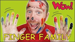 Animal Finger Family from Steve and Maggie | Magic Speaking Learning Wow English TV