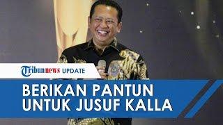 Momen Hadirin Beri Standing Applause untuk JK, Bambang Soesatyo Beri Pantun JK dalam Bahasa Bugis