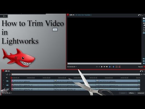 How to Trim Video in Lightworks