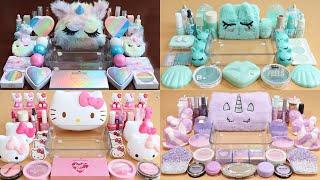 My best slime Unicorn,Mint,HelloKitty,purple Compilation!x2 Most Satisfying Slime Video!★ASMR★