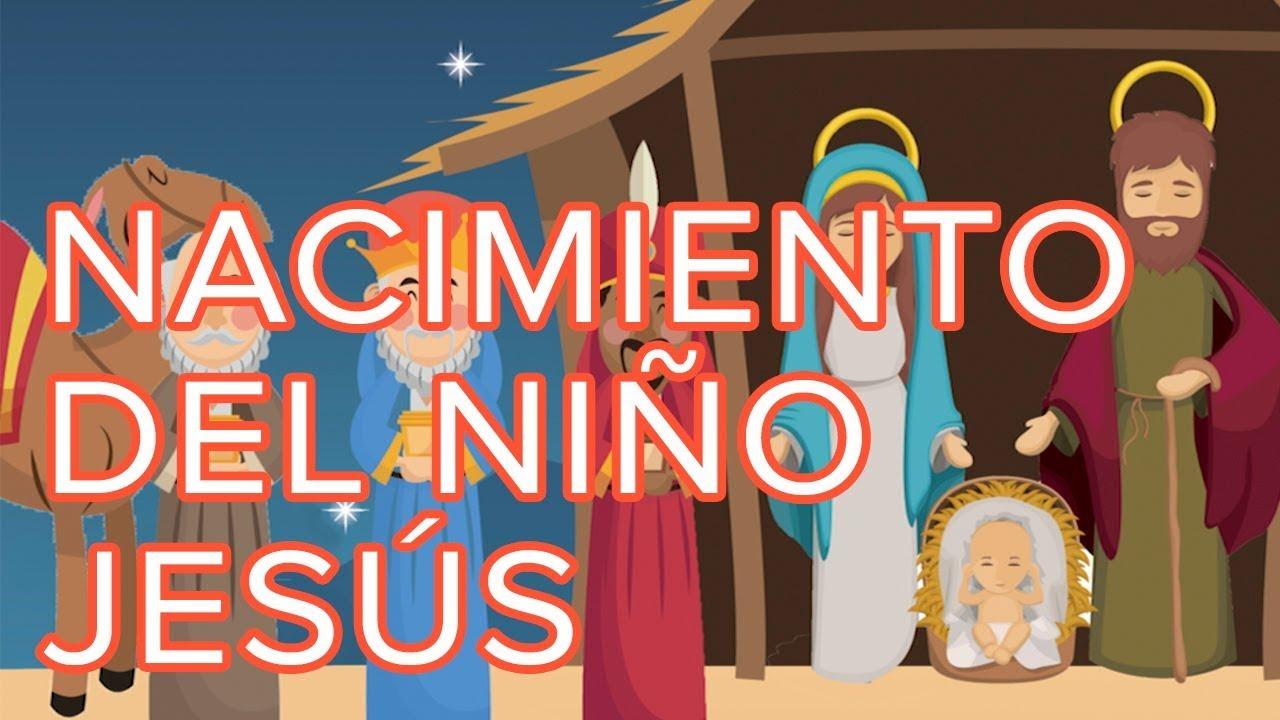 El nacimiento del niño Jesús. Cuento de Navidad para niños