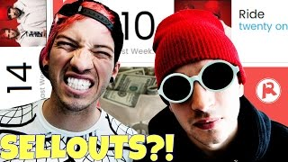 TWENTY ONE PILOTS ARE SELLOUTS?!