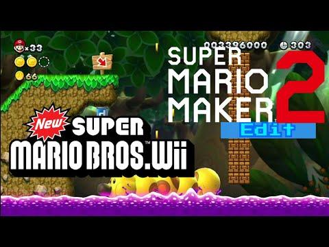 Video dan mp3 Castle New Super Mario Bros U Edit Super Mario