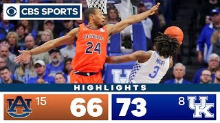 #15 Auburn Vs #8 Kentucky Highlights: Wildcats Clinch SEC Title By Beating Tigers | CBS Sports