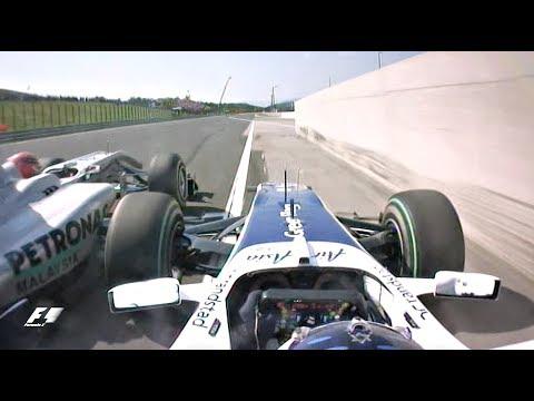2010 Hungarian Grand Prix | Barrichello Vs. Schumacher