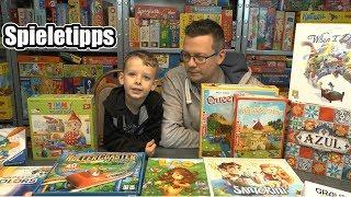 Top Kinderspiele / Familienspiele für Weihnachten (zum Spielen oder als Geschenk)