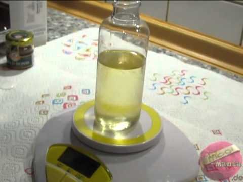 Badeöl selbstemacht - Backe, backe Badebombe