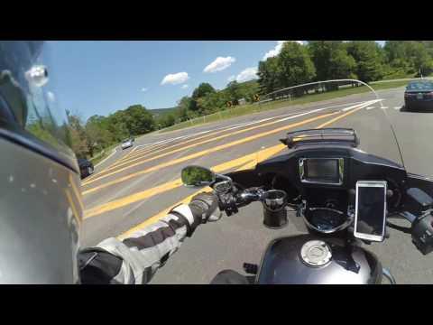 Xioami Yi camera as a motorcycle dash cam test | Vlog#100yay