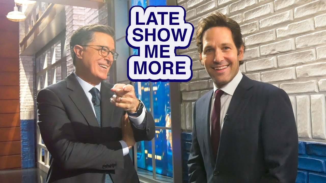 LATE SHOW ME MORE: Pie In The Sky! thumbnail