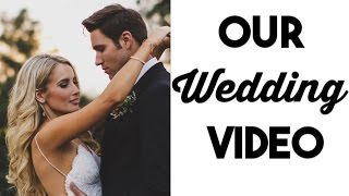 OUR WEDDING VIDEO! | Incredibly BEAUTIFUL California Wedding!