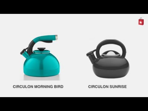 Circulon Sunrise 1.5 Qt. Tea Kettle Comparison Video