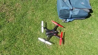 Park and Beach - MJX Bugs revisits old Syma X8 Props