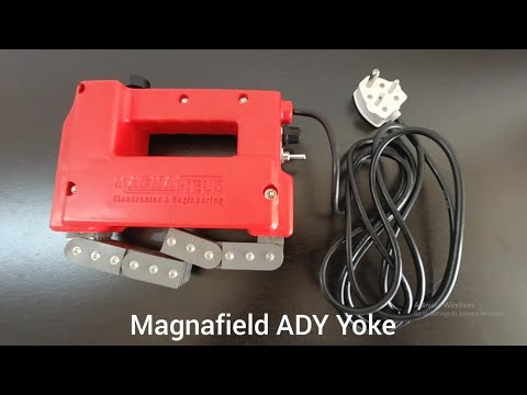 Yoke Type Crack Detector
