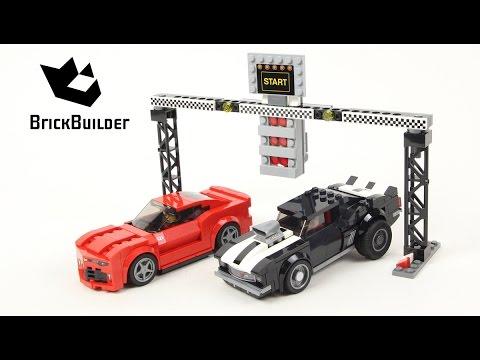 Vidéo LEGO Speed Champions 75874 :  La course des Chevrolet Camaro