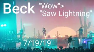 "Beck ""WowSaw Lightning"" 71919 Las Vegas, Nevada"