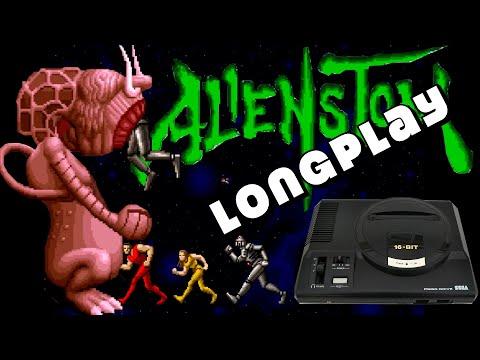 Alien Storm Megadrive Longplay (1080p 60fps)