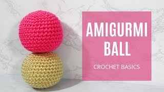 How To Crochet - Easy Beginners Amigurumi Basic Ball LUNA Head Sphere