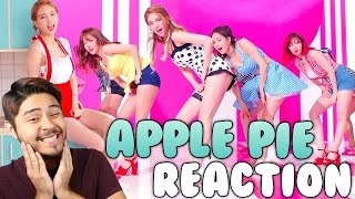 "FIESTAR(피에스타)  APPLE PIE MV (REACTION) ""I ALMOST PASS OUT!?"""