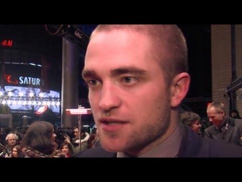 Twilight Hunk Robert Pattinson arrives at the Berlinale