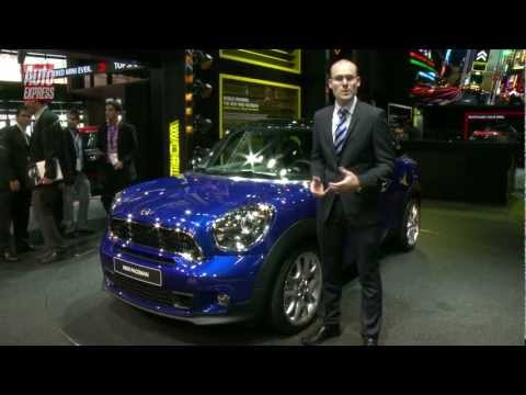 MINI Paceman at the 2012 Paris Motor Show - Auto Express