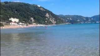 preview picture of video 'Corfu - Glyfada Beach **OMG How Beautiful**'