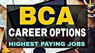 Jobs After BCA || Career Options After BCA || By Sunil Adhikari ||