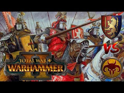 THE FINAL CHARGE | Bretonnia vs Beastmen - Total War Warhammer 2 (видео)