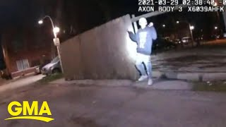 Bodycam footage shows officer fatally shooting 13-year-old boy l GMA