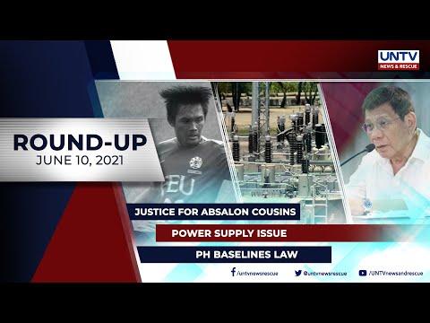 [UNTV]  UNTV NEWS ROUNDUP: Mga balitang dapat mong malaman (June 10, 2021)