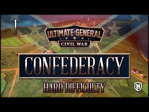 Beginning Anew | Confederate Campaign #1 - Hard Difficulty - Ultimate General: Civil War Mp3