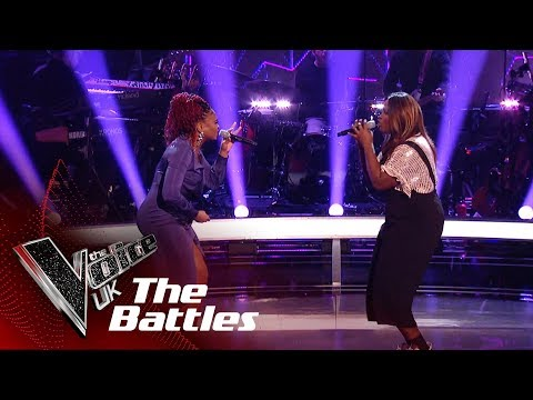 Bukky Oronti VS Gisela Green - 'Best Thing I Never Had' | The Battles | The Voice UK 2019