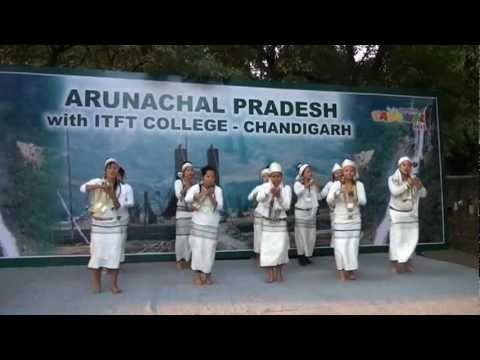 ITFT College students of Arunachal Pradesh performing folk and traditional dances in Chandigarh Carnival 2012- entitled dreamland of Northeast States, which enthralled the audience.   Uploaded by ITFTINDIA on Dec 07, 2012   ITFT College Chandigarh,