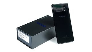 Распаковка Galaxy Note 8 в ожидании iPhone X