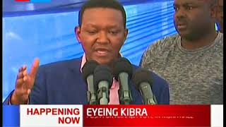 Governor Alfred Mutua and Charity Ngilu drum up support for ODM candidate in Kibra - by election
