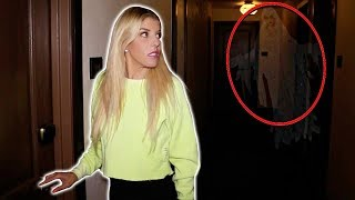 24 Hours in a Haunted Hotel! We Found a REAL GHOST at 3am