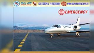 Utilize Economical-Cost Air Ambulance in Bhopal with Best Medical Team